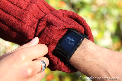 wordclock4 thumb Pebble Smart Watch Review   More than just potential?