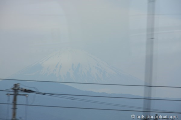 IMG 6333 thumb Mount Fuji, Tokyo and the 200 mph Bullet Train