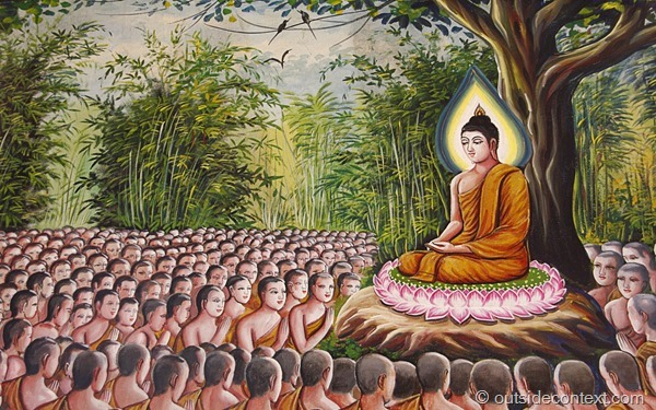 Lord Buddha teaching laos thumb Chan Buddhism, Daoism and Zen   Journey through the East