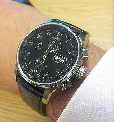 2012 09 19 13.27.26 Hamilton JazzMaster Maestro Auto Chrono Watch Review