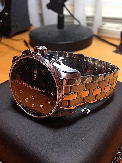 2013 11 12 22.31.10 Hamilton JazzMaster Maestro Auto Chrono Watch Review